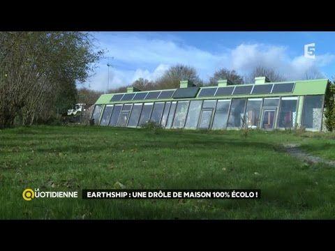 Visite du0027une maison autonome en énergie  Earthship Construire