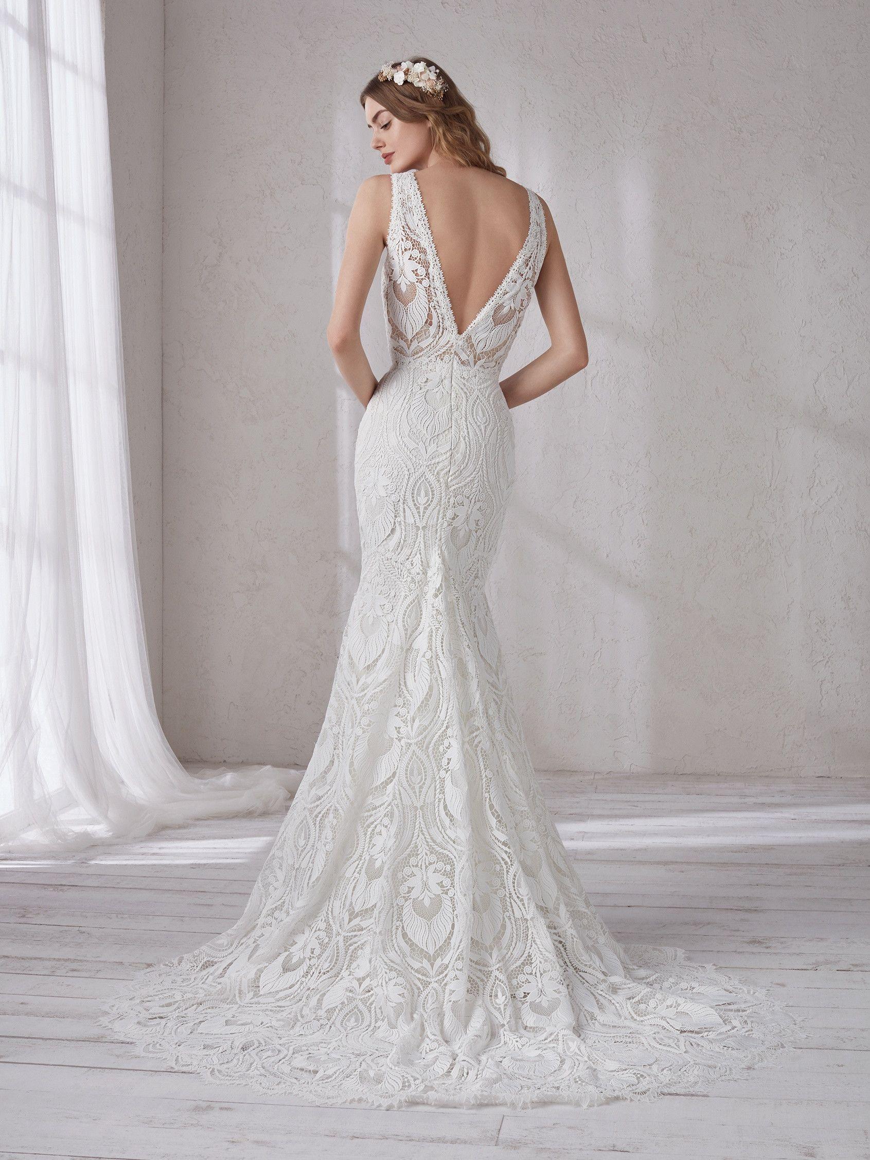 4e00063c71 Magnolia 2019 Pronovias – menyasszonyi ruha bérlés   Wedding ekkor ...