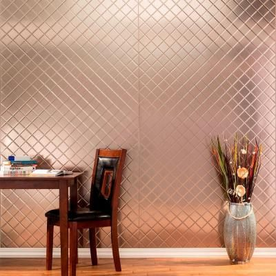 Quilted Decorative Wall Panel In Matte White
