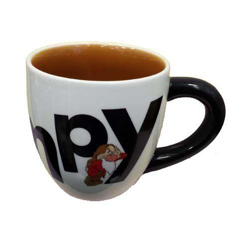 Disney Coffee Cup Mug Grumpy Marquee