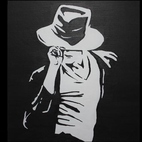michaeljacksonsilhouette michael jackson silhouette folksy
