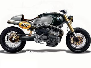 2009 BMWconcept - Pipeburn - Purveyors of Classic Motorcycles, Cafe Racers & Custom motorbikes