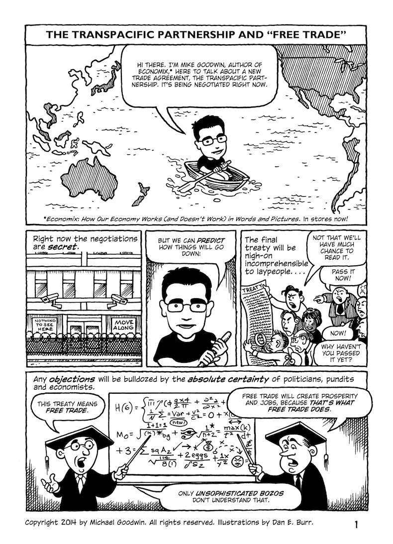 Free Trade Explained In An Excellent Comic Filmsforaction