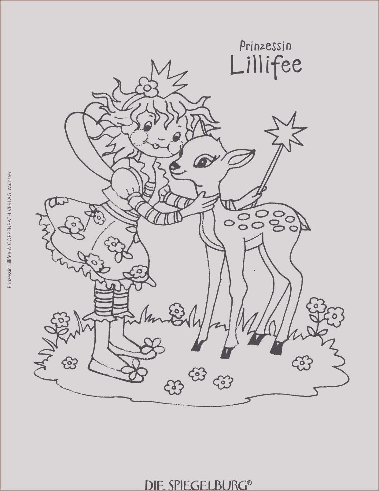 Einzigartig Malvorlagen Grundschule Gratis  Lillifee ausmalbild