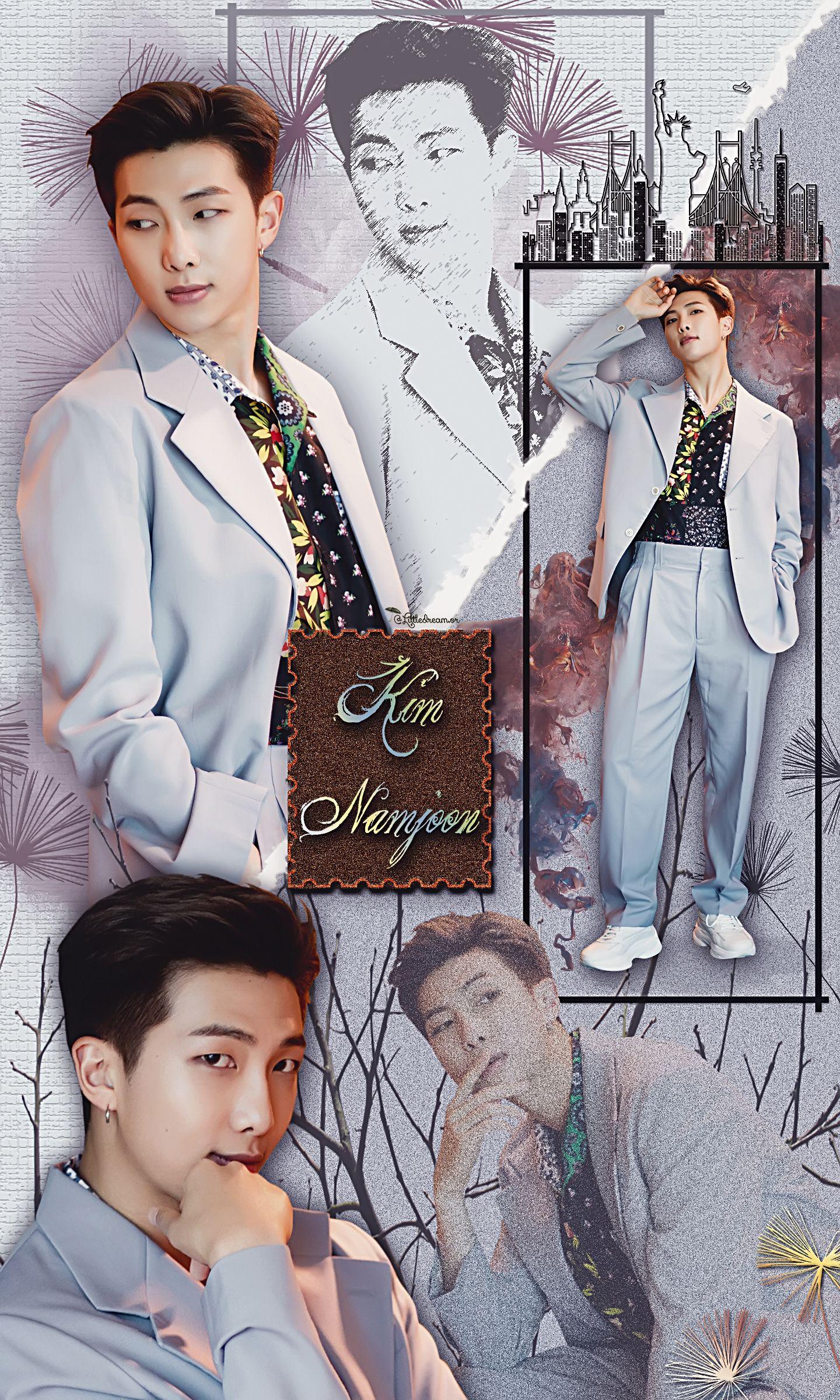 Pin by Sweet MoonAngel on RM / Kim Namjoon *very beautiful