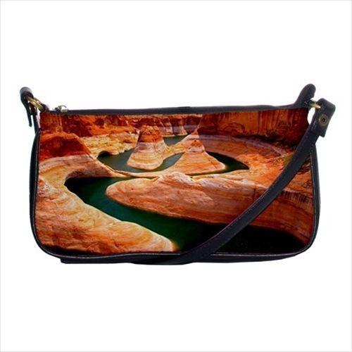 Glenn Canyon Usa Shoulder Clutch Handbag & Mini Coin Purse
