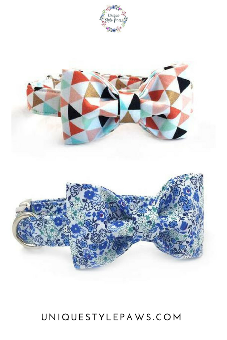 Pet accessories cute bow ties to dress up your four legged friend