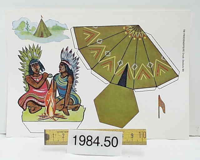 Indianer & Wigwam : Friedenspfeife & Kutsche : Texas-Kutsche & Reiter : Trapper / Cowboy & Pferd & Planwagen   Deukula Mü