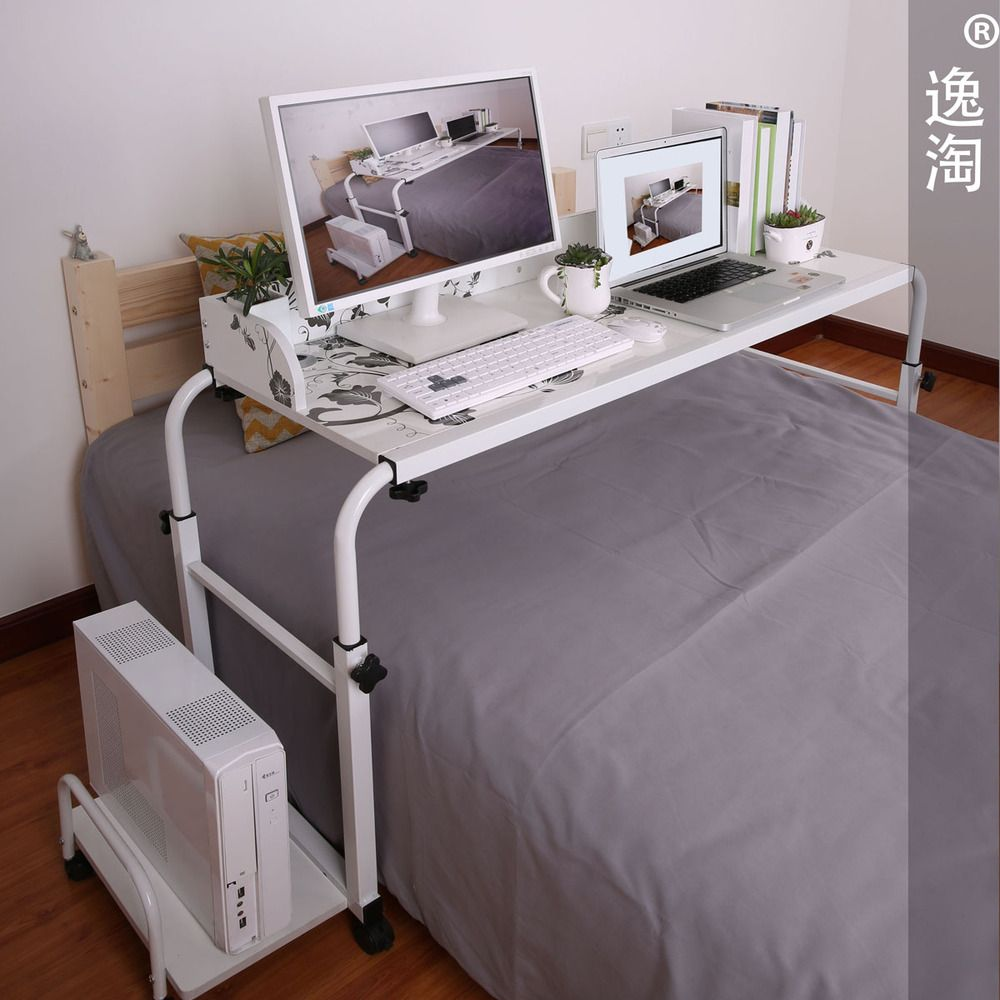 Bedside Computer Table Computer Table Computer Desk In Bedroom Laptop Table For Bed