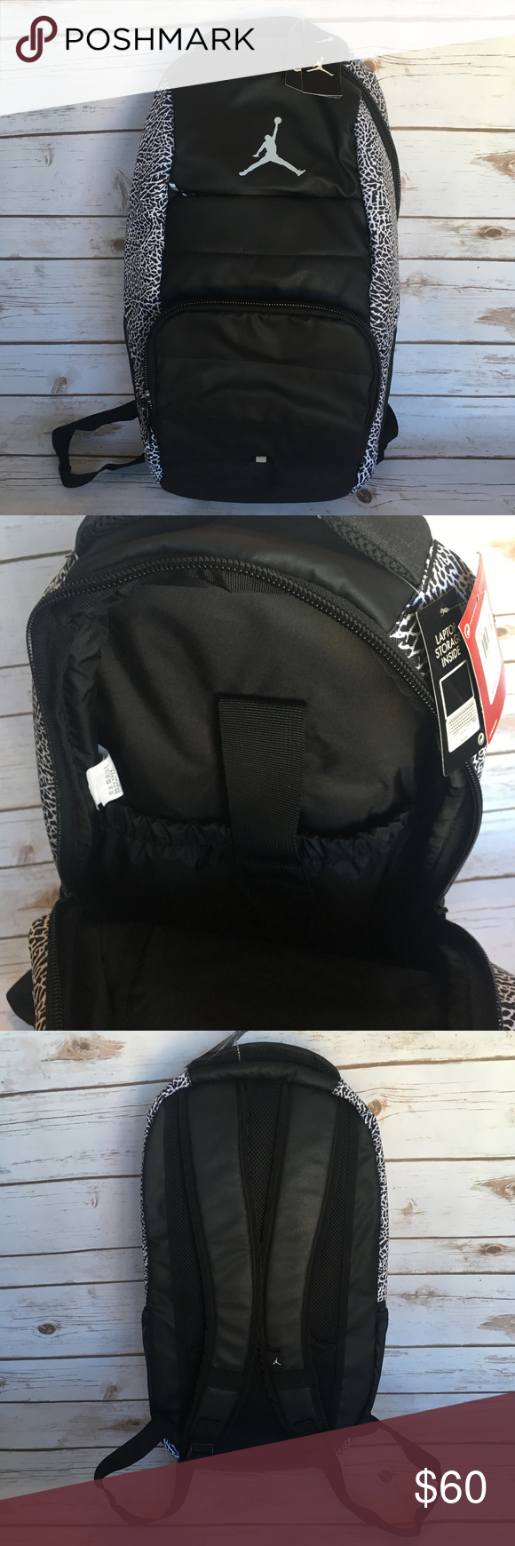 Nike Air Jordan All World Backpack Elephant print NWT (With