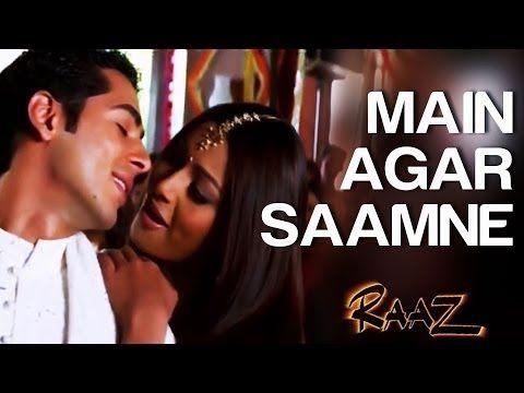 Main Agar Saamne Raaz Dino Moreo Bipasha Basu Abhijeet Alka Yagnik Youtube Bollywood Music Videos Latest Bollywood Songs Bollywood Music