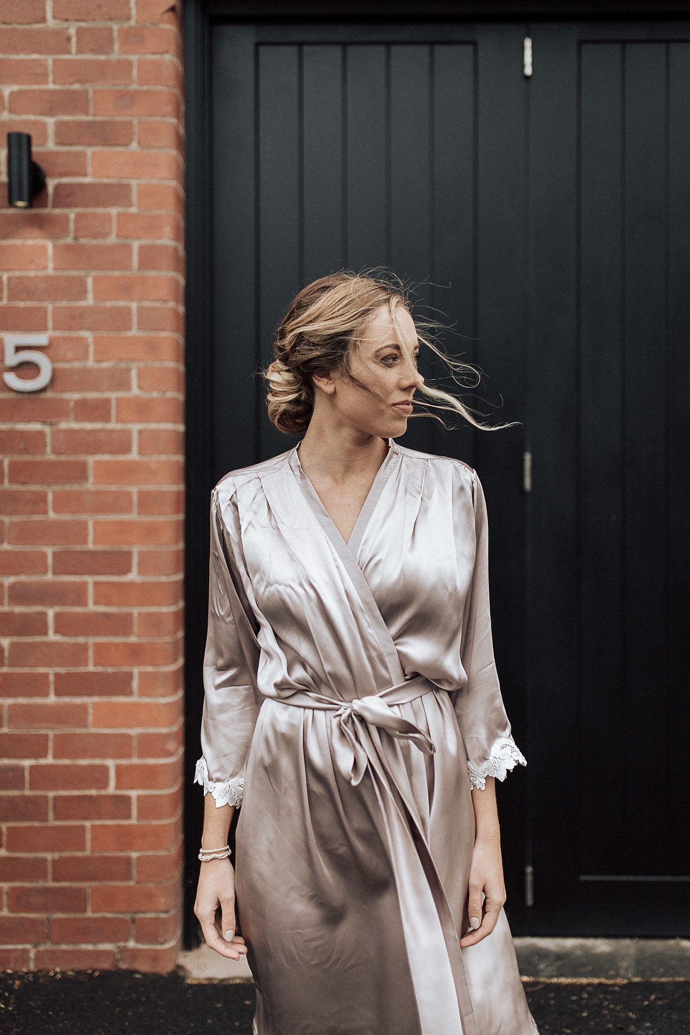 Anna Campbell Bridal Silk Wedding Robes orders