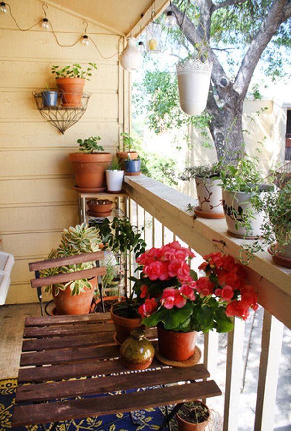Small Balcony Garden Design By Jenny And Collin Small Balcony