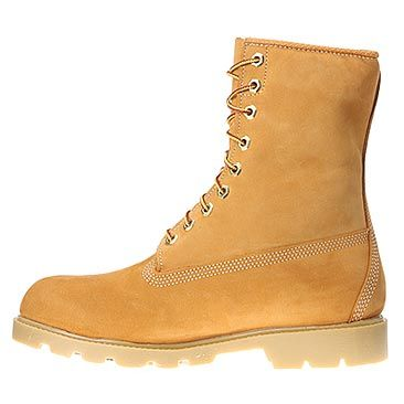 Men's Timberland Work Boots M Classic 8 Inch Basic Boot Wheat Nubuck
