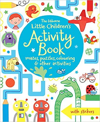 Little Children S Activity Book Mazes Puzzles And Colouring Various 8601410684075 Amazon Com Boo Kids Activity Books Book Activities Childrens Activities