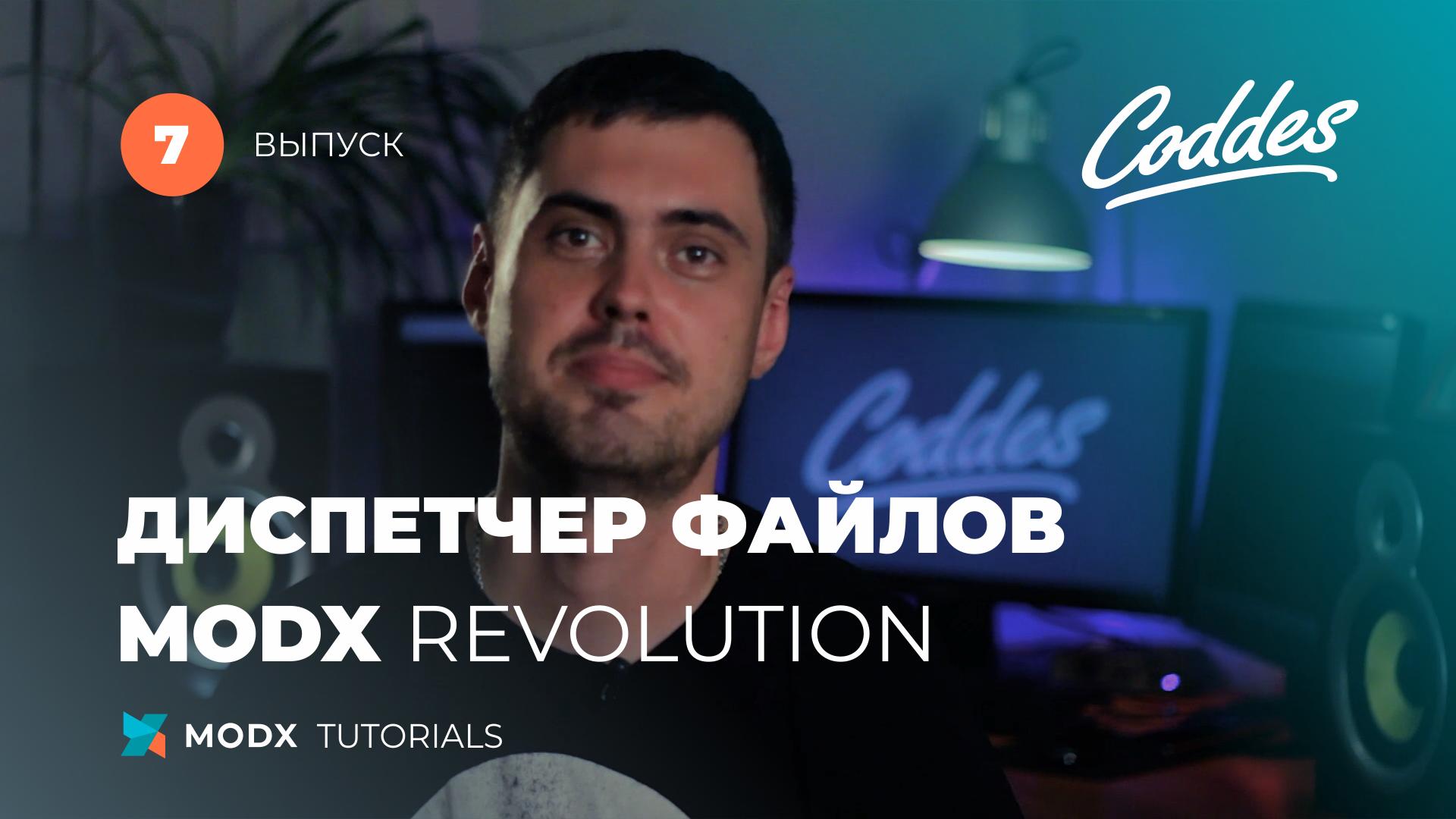 MODX файлы. Диспетчер и источник файлов MODX Revolution В ...