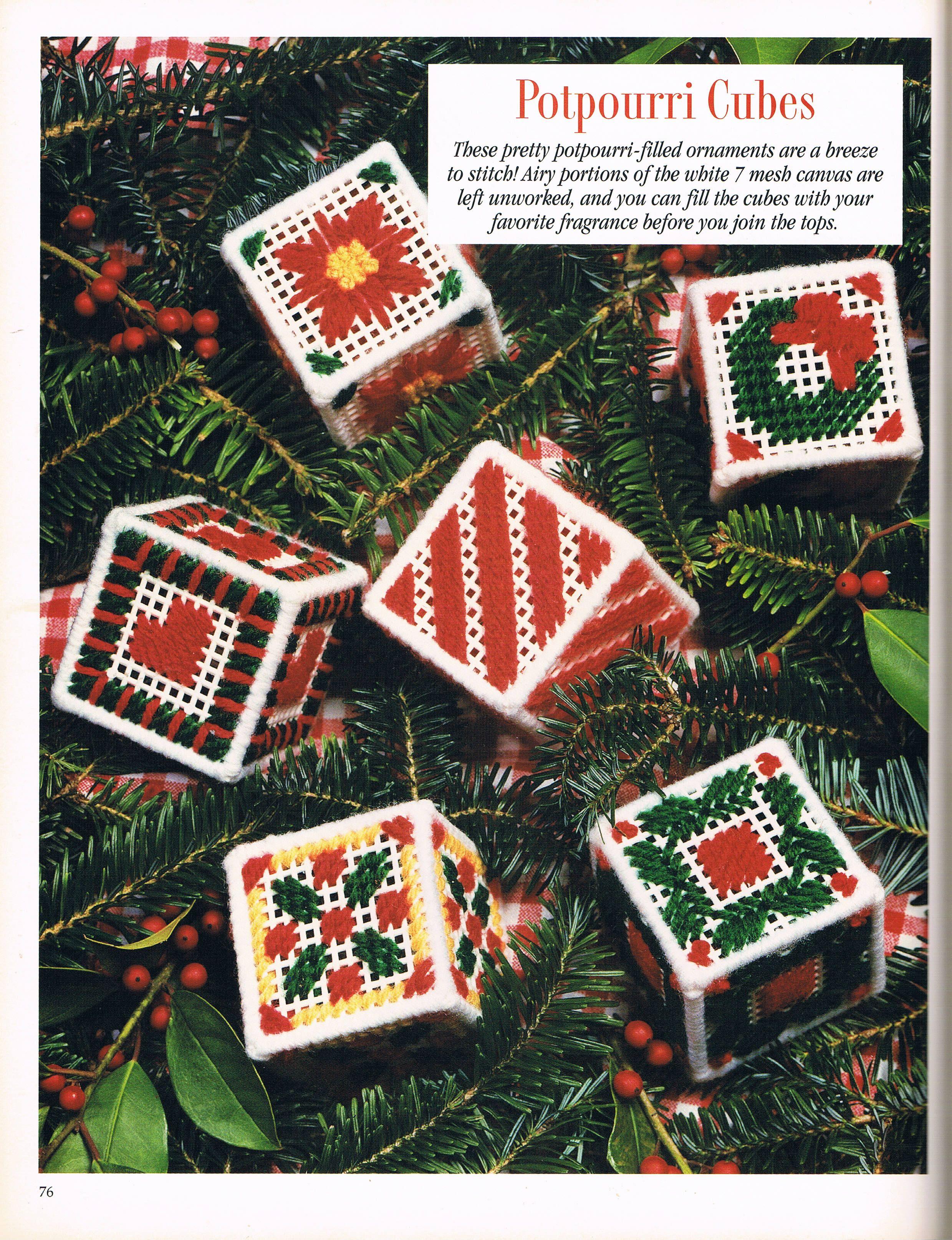Plastic Canvas Christmas.150 Extra Easy Ornaments Pg 77 Plastic Canvas Plastic
