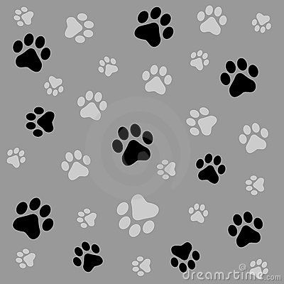 Dog Print Wallpaper puppy paw print wallpaper - bing images | paw prints! | pinterest