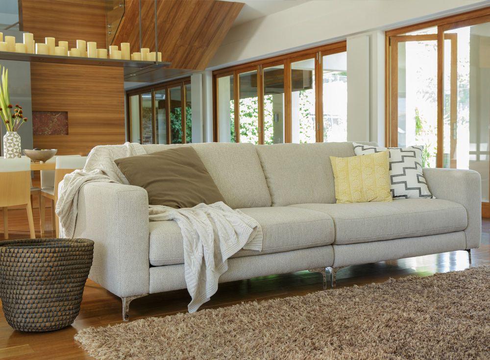 Zara Leather Sofas 2 Seater 3 Sofa Plush