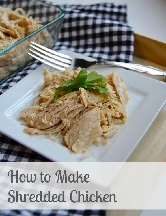 how to make shredded chicken recipes