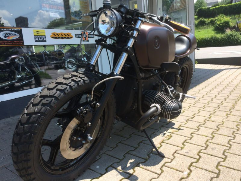 bmw r 80 rt bobber scrambler cafe racer de 66287 fischbach saar allemagne garage bm bmw. Black Bedroom Furniture Sets. Home Design Ideas