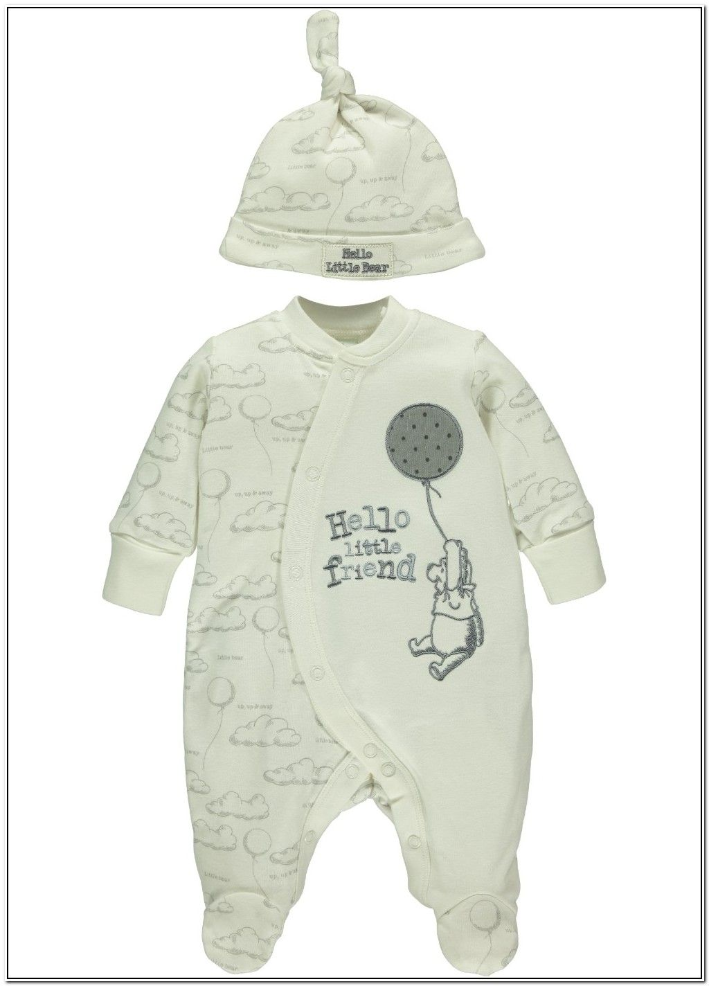 Gender Neutral Winnie The Pooh Baby Clothes  8b91470d2554