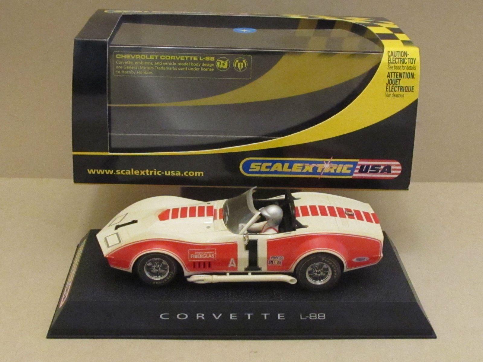 C2566 Scalextric 1969 Chevrolet l88 Corvette Convertible No1 Owens 1:32 Slot Car https://t.co/4RoWiT0I9i https://t.co/YuZ7O4SOJY