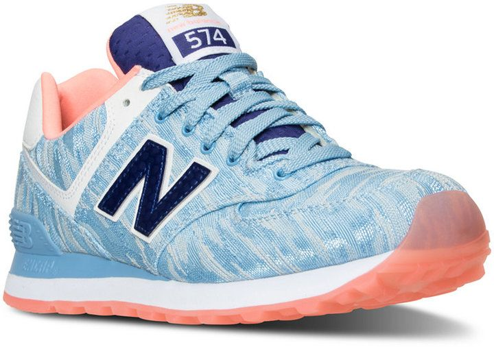 New Balance Women's 574 Summer Waves Casual Sneakers from Finish Line