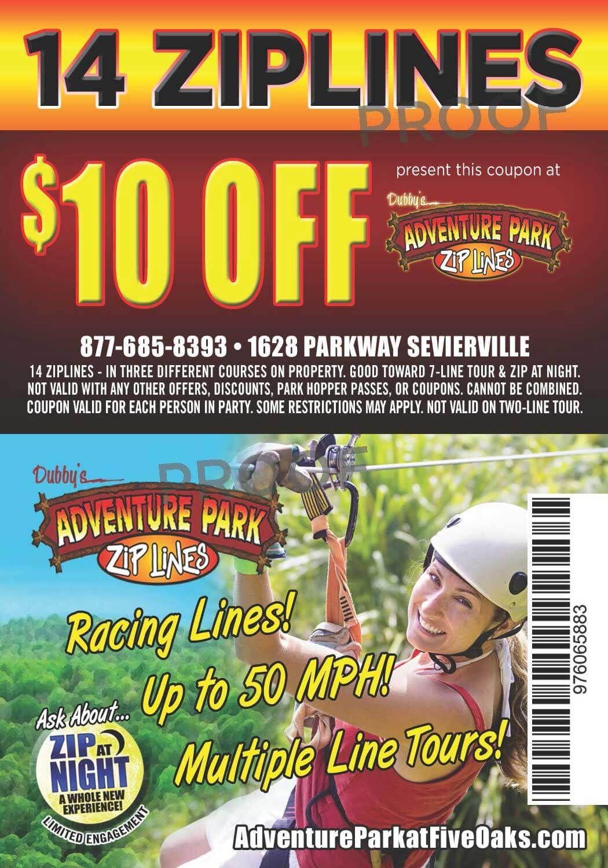 Adventure park at five oaks sevierville tn zip rope