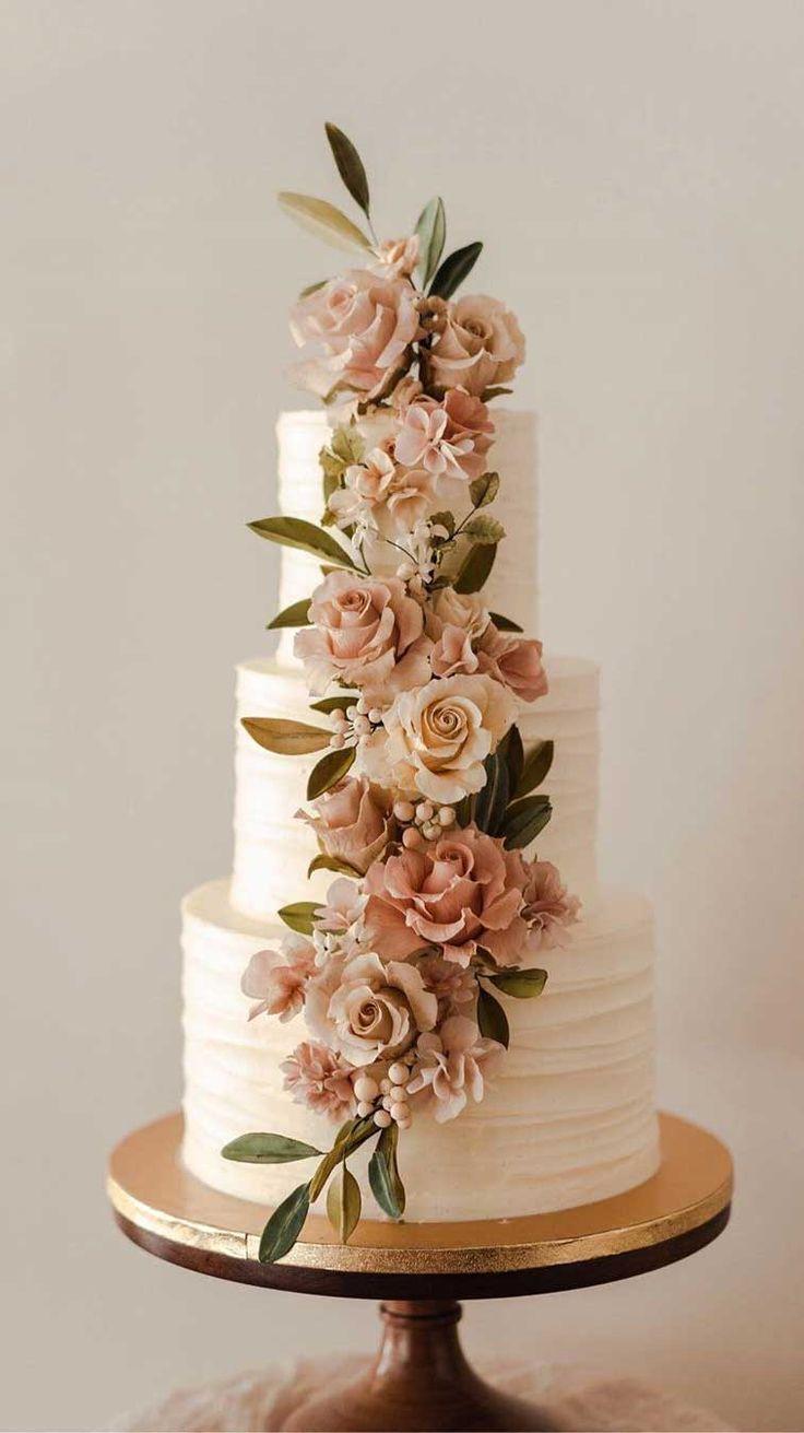 The 50 Most Beautiful Wedding Cakes – Blumen, Torten, Schmuck für Hochzeit – #b…