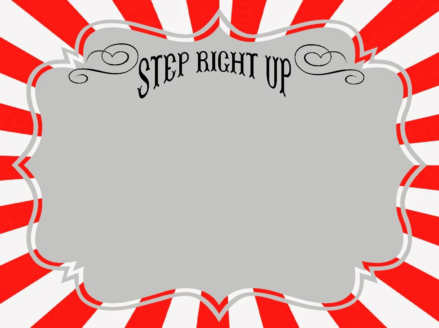 free carnival template | Now you will just need the fonts, here ...