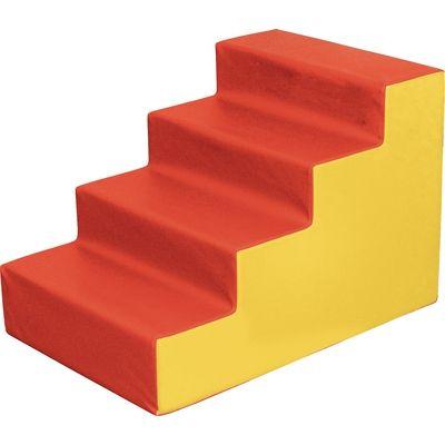 Schaumstoff treppe einzelelemente krabbelmatten for Raumgestaltung krippe