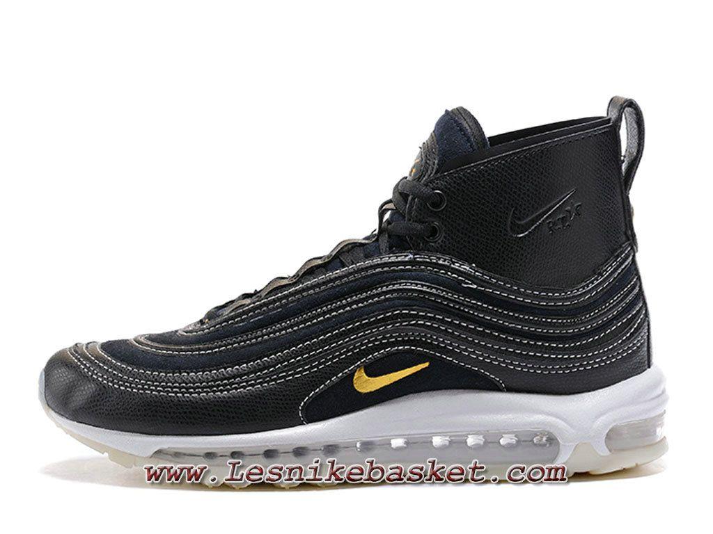 6182d61d603 Running Nike Air Max 97 High Noires Blanc Chaussures air max 97 Prix Pour -  Merci pour Acheter Discount Sneaker sur le site Les Nike Sneaker Officiel  site ...