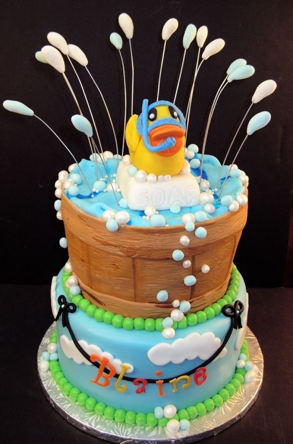 I love duck cakes...Rubber Ducky Splash, too cute!