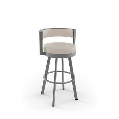 Fantastic Latitude Run Matthews Bar Counter Swivel Stool Upholstery Ibusinesslaw Wood Chair Design Ideas Ibusinesslaworg