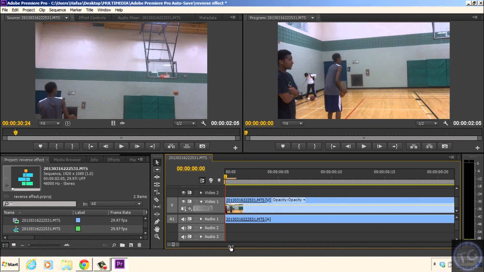 This tutorial will show you how you can reverse or put your video backwards in Adobe Premiere. In this I will show you how to reverse your clip with Adobe Pr...