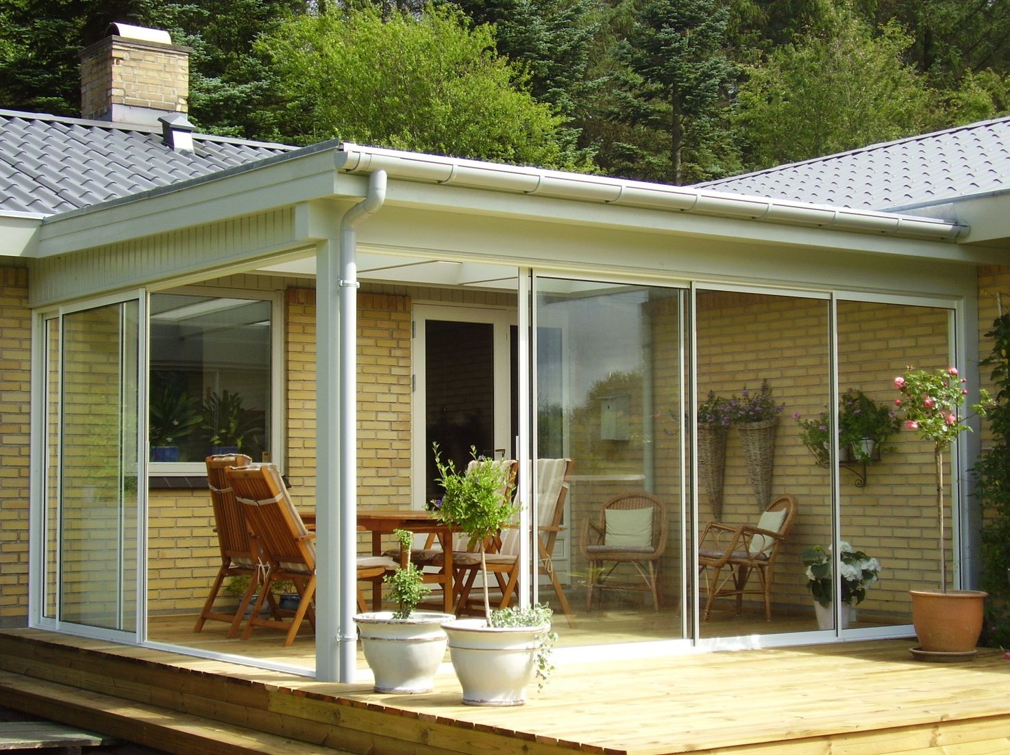 Of Course With Sliding Doors From Bygshop Deckporchsunroom