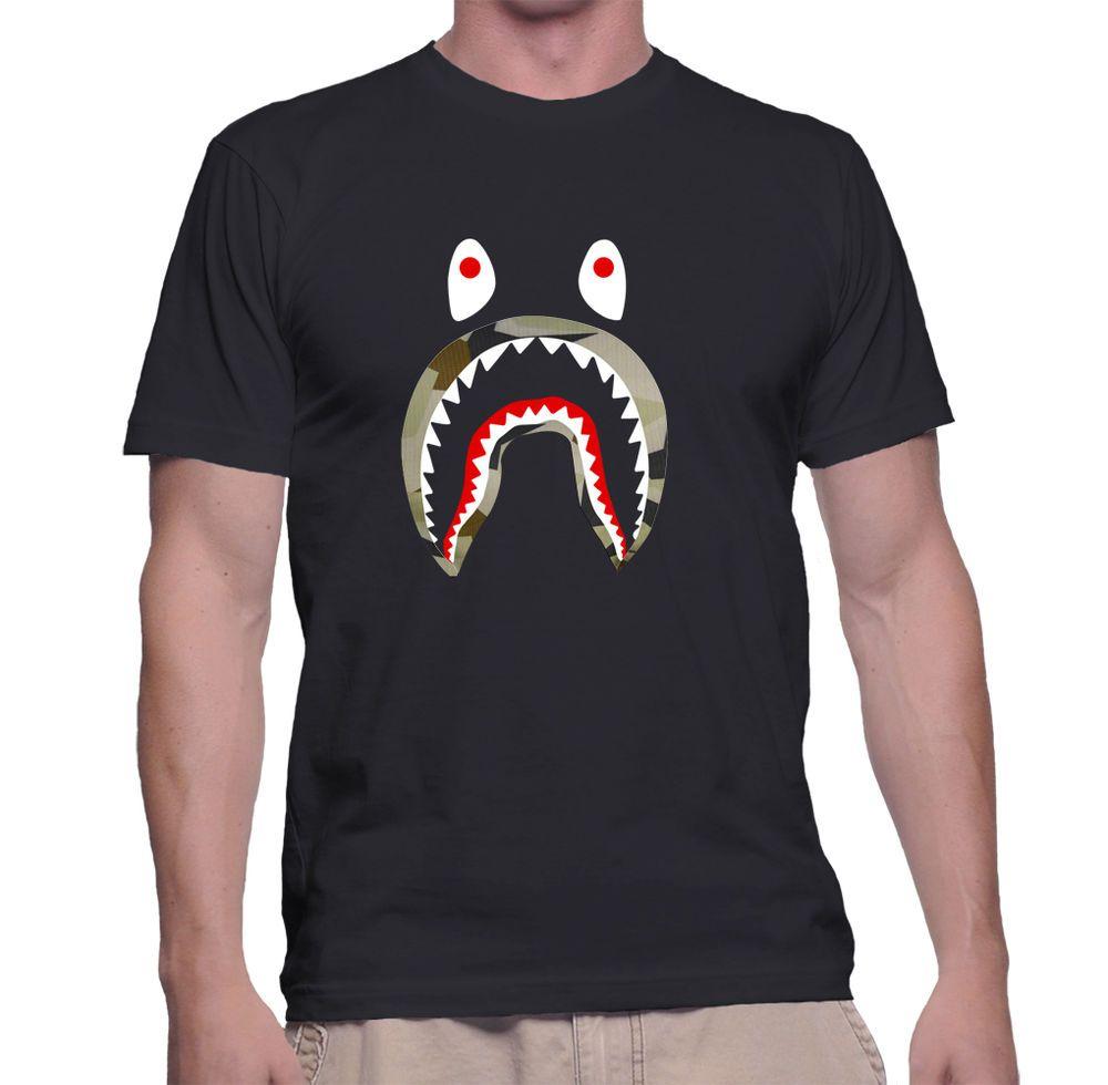 A Bathing Ape Shark T Shirt