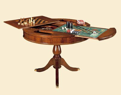 Round Gaming Table Gv1245 Table Games Table Poker Table