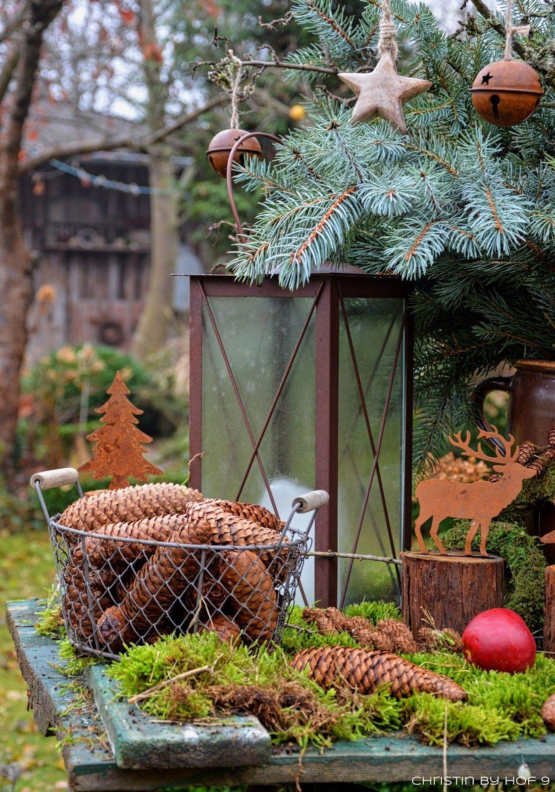 Quaste Aus Kiefernadeln Naturliche Gartendeko Im Winter Weihnachtsdekorati Weihnachtsdekoration Garten Dekoration Weihnachten Garten Weihnachtsdeko Im Garten
