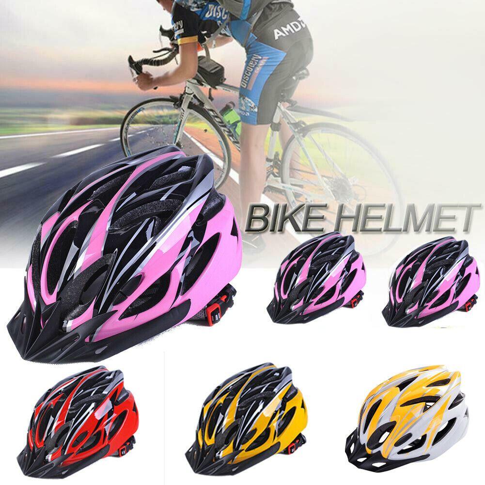 Cycling Bicycle Helmet Mtb Bike Unisex Adult Adjustable Safety