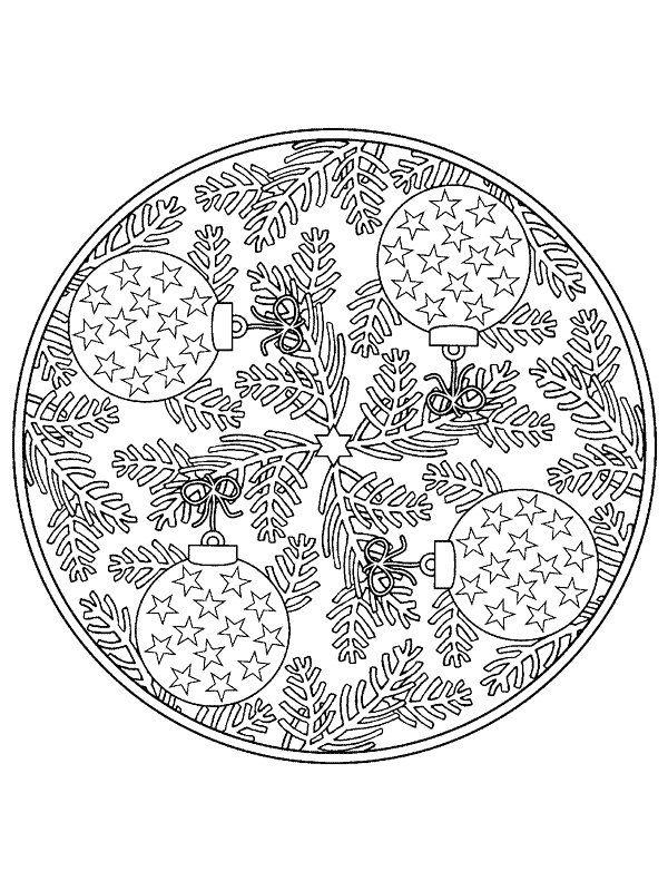 Mandalas de noel | Mandalas | Pinterest | Mandalas, Noel y Navidad
