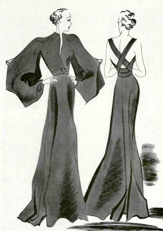 Pin von Terri Dawson auf Vintage Fashion | Pinterest | 30er jahre ...