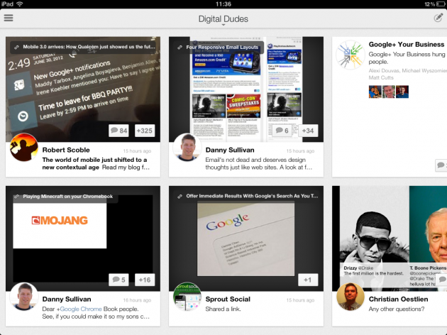 Friday Social Round Up: #Google+ iPad App, #Twitter Searches, #Facebook Events and Group Updates | Fresh Egg SEO Blog