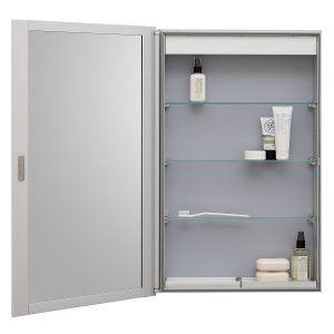 Slimline Bathroom Cabinet Mirror