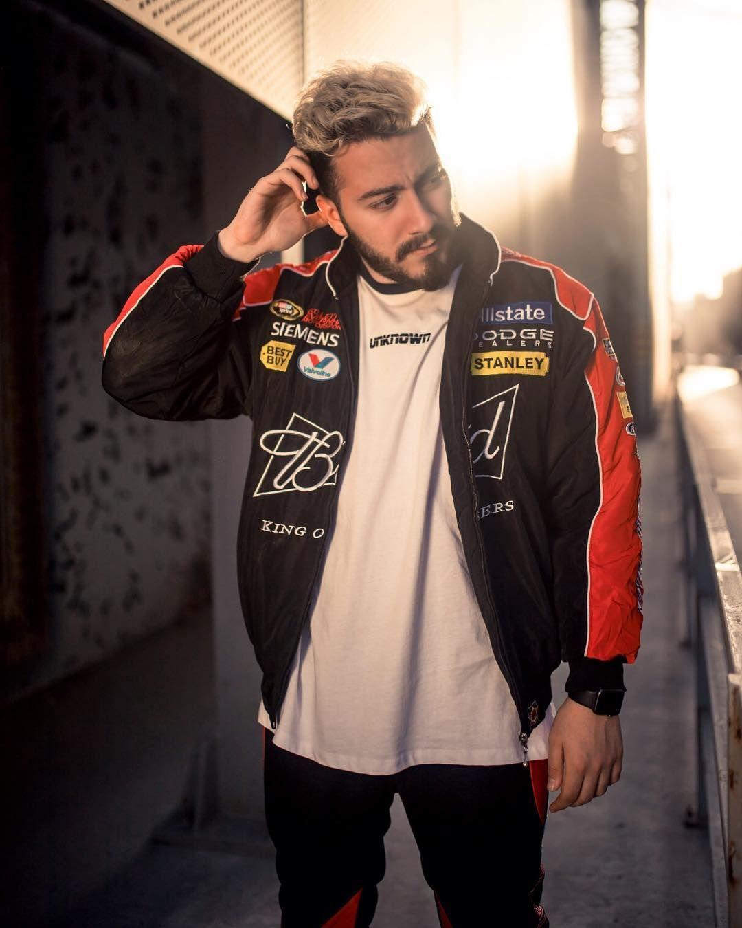 Bos Yapan Birini Gorunce Ben Motorcycle Jacket Varsity Jacket Bomber Jacket