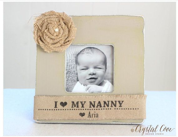 Nanny Gift Grandma Grandmother Personalized Picture Frame Granny ...