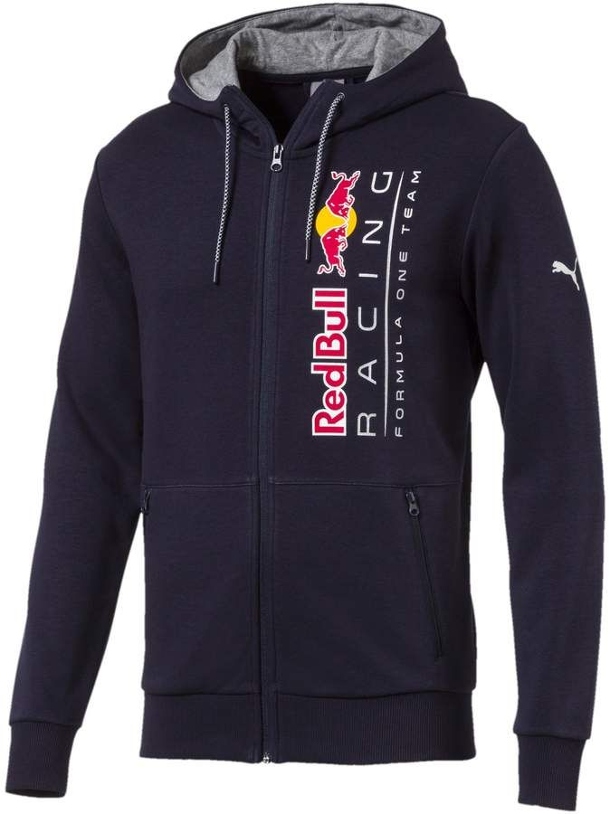 89767f14f5f Red Bull Racing Lifestyle Men's Hooded Sweat Jacket | Products ...