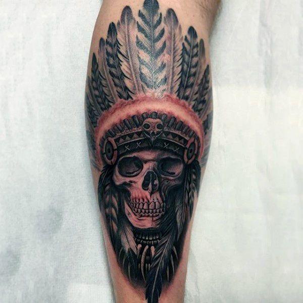 100 Native American Tattoos For Men Ideas 2020 Inspiration Guide Native American Tattoos Native Tattoos Indian Skull Tattoos