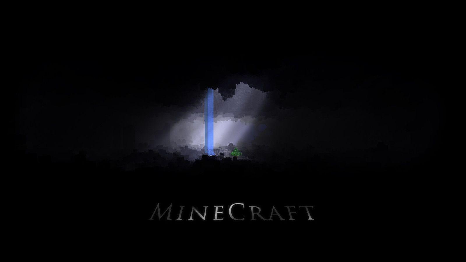 Video Games Dark Minecraft 1600x900 Wallpaper Minecraft Wallpaper Amazing Minecraft Abstract Wallpaper